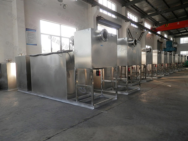 火锅密闭式分体式油水分离与处理设备代理