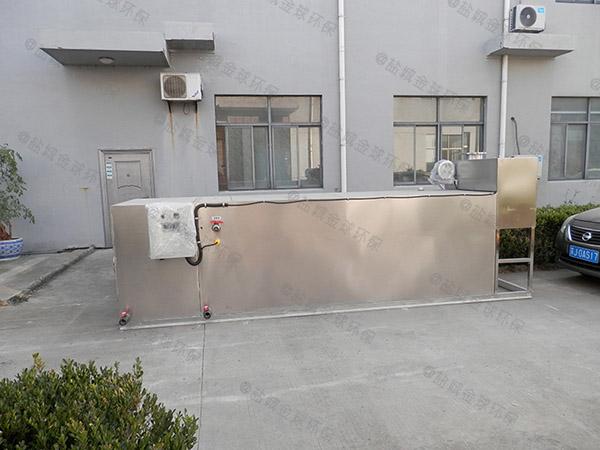 住宅楼地埋污水污水处理油水分离设备环保要求