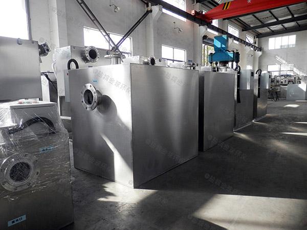 敦化综合体地面式分体式成品隔油设备原理