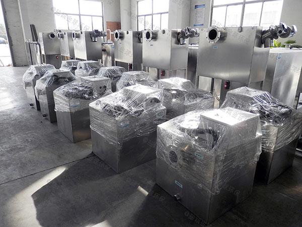 商场地上式智能安图一体化安图隔油提升设备工程