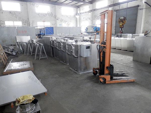 小饭店密闭式移动式废水隔油器厂商