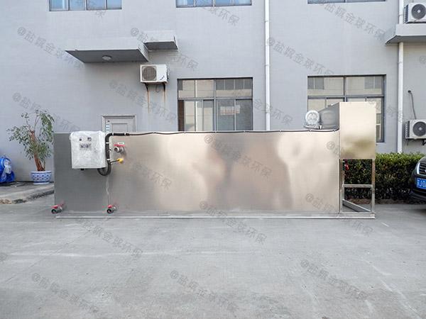 学校地下式多功能含油污水处理设备检测报告