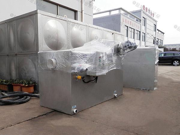 饮食业地面式智能型油污水分离装置