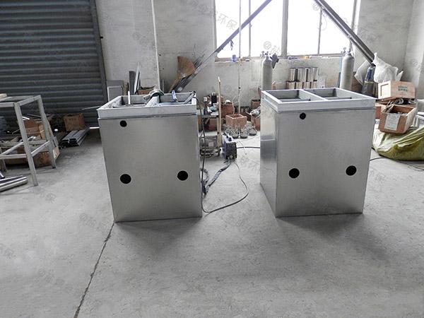 厨余埋地全自动智能型隔油除渣设备的设计计算