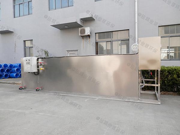 中小型室内半自动隔油污水提升一体化设备