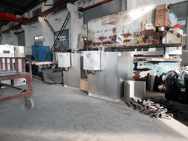 小型地面无动力隔油提升一体设备检测报告