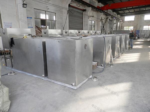 舒兰商业地面移动式污水处理隔油设备简介