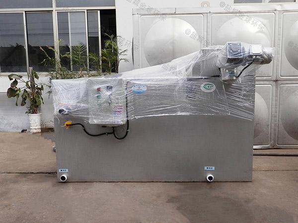 工地地面式简单隔油隔渣设备使用方法