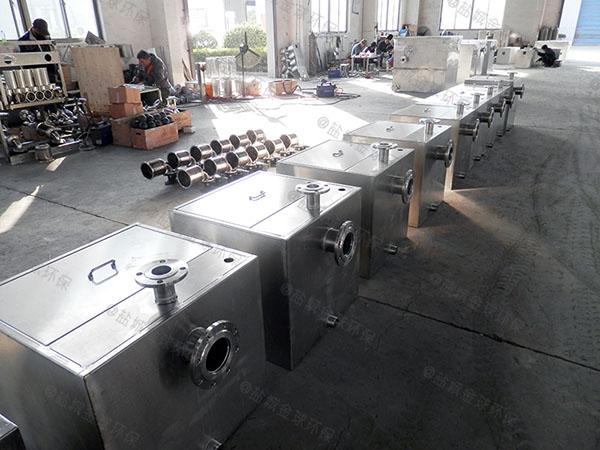 户外埋地自动除渣水处理油水分离器设计标准