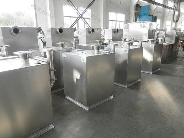 餐饮类地埋简单污水处理油水分离器供货厂商