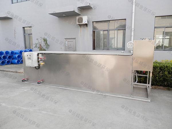 单位食堂地上全能型废水隔油器选用表