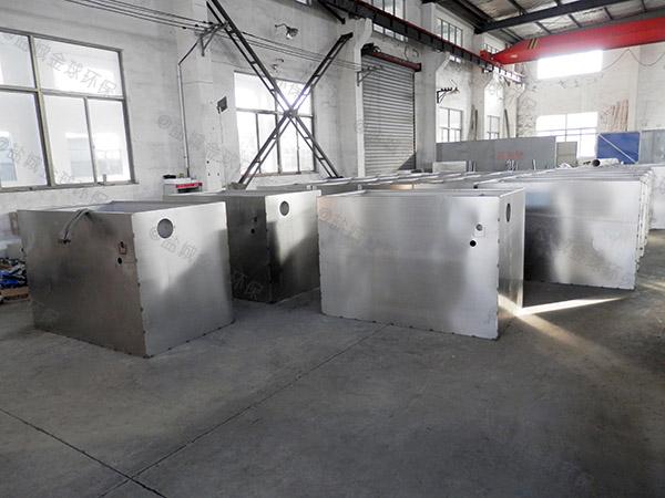 餐饮室外废水成套隔油池设备使用方法