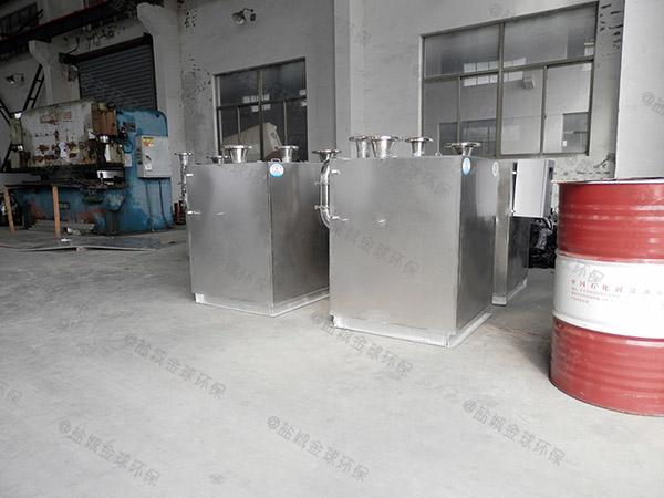 食堂地上式简单气浮式隔油池供货商