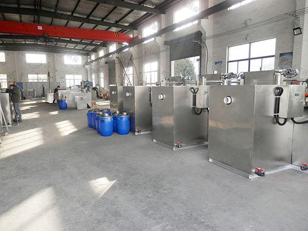 饭馆密闭式废水隔油一体化提升设备加盟代理