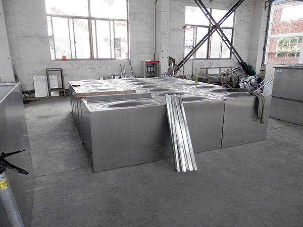 餐饮商户地上式组合式油水分离及过滤装置工程