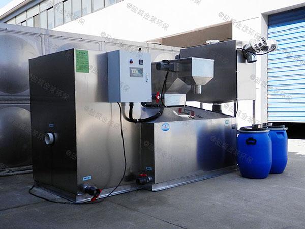 工程地下室移动式隔油提升一体化设备制作
