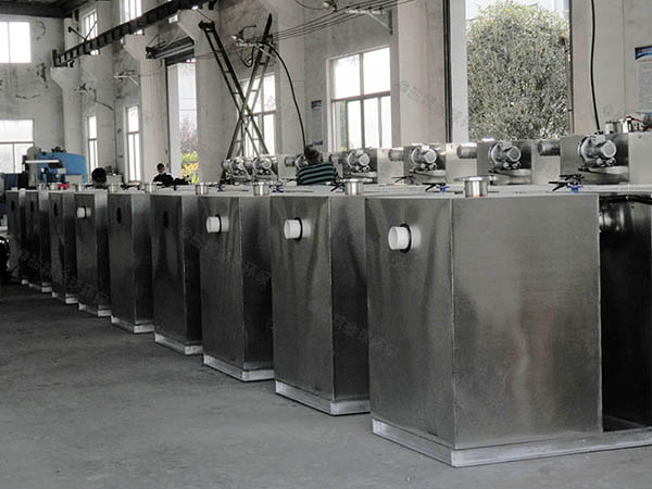 火锅店地面式泔水气浮式自动隔油器技术参数厂家