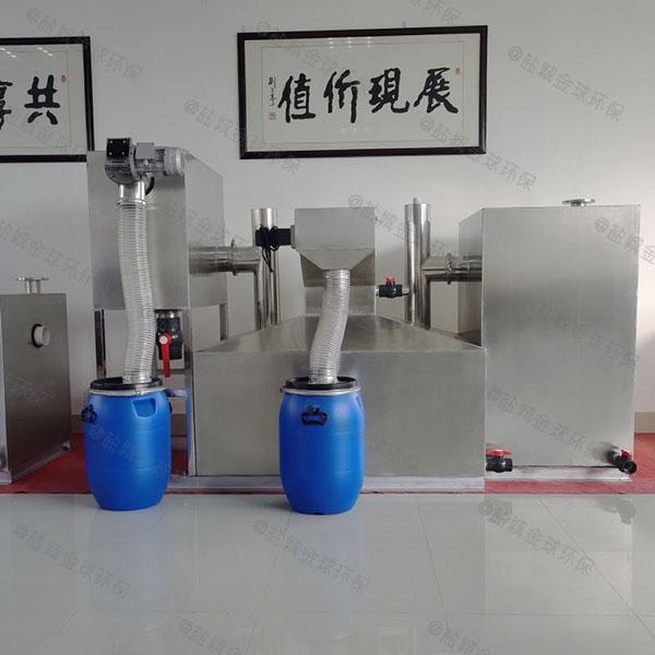 成套隔油提升设备方案