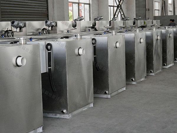商场地面自动提升成套隔油池设备售后